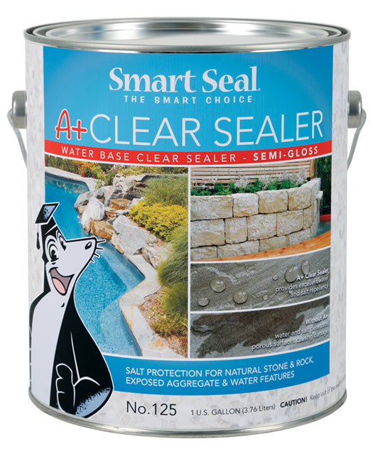 A+ Clear Sealer - Semi Gloss Water-Based Clear Acrylic Coating