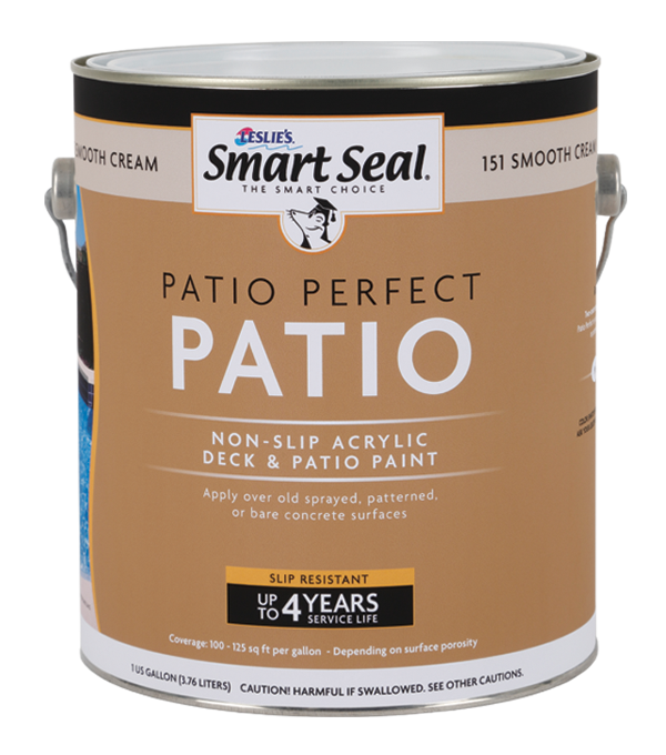Pool Patio or Deck Repair Paint & Coating: Patio Perfect by Smart Seal
