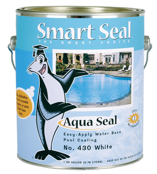 Aqua Seal Acrylic Enamel Pool Paint