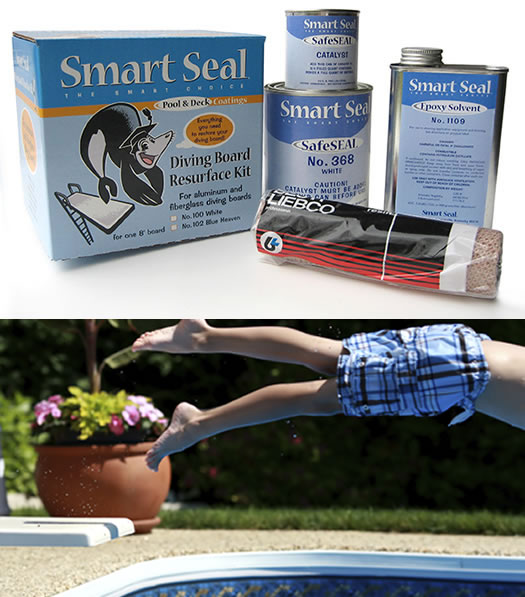 Diving Board Paint Kit for Swimming Pools: Fiberglass, Aluminum, Wood
